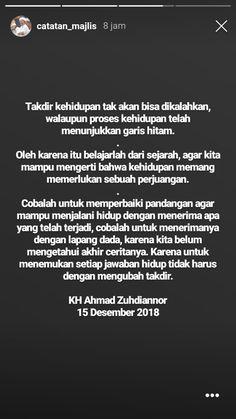 Muslim Quotes, Islamic Quotes, Tumblr Quotes, Life Quotes, Quotations, Qoutes, Quotes Indonesia, Self Reminder, Doa
