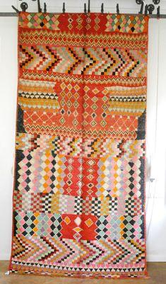 vintage Moroccan carpet via MyMarrakesh