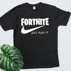 Have a Fortnite addict in your household? Fortnite, just play it tee available now #fortnite #fortniteaddict #fortnitejustplayit #justplayit