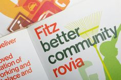 The Fitzrovia Partnership. Designs for a district – dn&co. Brand Identity, Branding, Buildings, Inspiration, Design, Biblical Inspiration, Branding Design, Design Comics