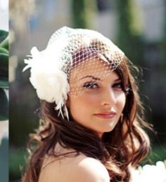 Lovely wedding headpiece