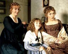 The Dashwood sisters - Sense and Sensibility 1995 movie