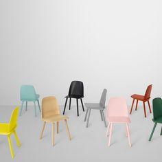 Kitchen / Dining: Muuto Nerd Coloured Chairs