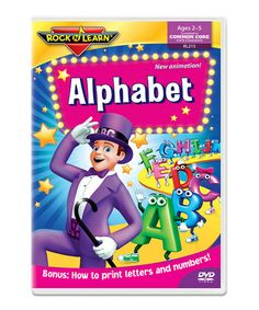This Alphabet DVD is perfect! #zulilyfinds
