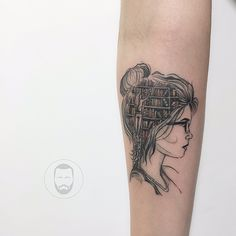 47 Awesome Book Tattoo Designs Ideas For Bookworms - Bellestilo Body Art Tattoos, Pretty Tattoos, Tattoos, Tattoos For Lovers, Cute Tattoos, Book Lover Tattoo, Book Tattoo, Piercing Tattoo, Head Tattoos