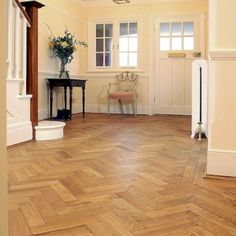 Oak Aged Parquet Oiled 280 x 70 x - With its tumbled edges and soft worn appearance, our range of aged oak parquet has a convincingly antique look, which looks like it's developed naturally Woodworking Furniture Plans, Woodworking Projects That Sell, Kids Woodworking, Natural Wood Flooring, Wooden Flooring, Decorating Bookshelves, Engineered Wood Floors, Decorated Jars, Decorating Coffee Tables