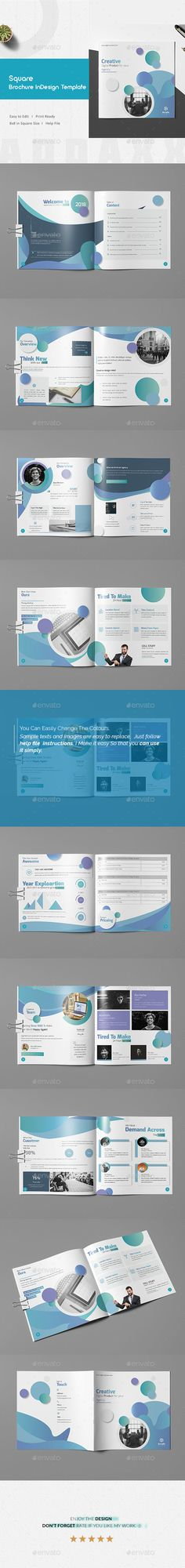 Brochure Template InDesign INDD - 16 Pages