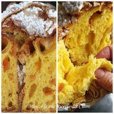 LA COLOMBA DI RENATO BOSCO Italian Desserts, Italian Recipes, Panettone Rezept, Baking Recipes, Cake Recipes, Pizza, Coffee Cake, Biscotti, I Foods