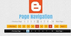 Number Page Navigation Widget Add kare Blogger Blog me - Hindi Me Help