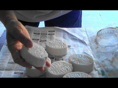 Como Fazer Molde ou Forma em Cano de PVC para Sabão ou Sabonete - YouTube