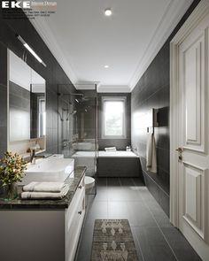 Thiết kế nội thất biệt thự tại Đà Lạt - EKE INTERIOR Double Vanity, Projects, Log Projects, Double Sink Vanity
