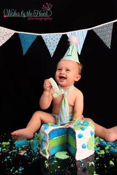 blue and green boys first birthday cake - Google Search