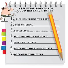 Essential points to write a good research paper. IJAET Journal