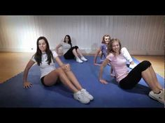cheer excercises, new and different than we've ever done before...better?