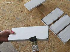Dynie z betonu - POZYTYWNIA.pl Crafty Projects, Chalk Paint, Cement, Decoupage, Workshop, Ornament, Painting, Atelier, Decoration