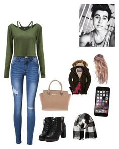 """""""Meeting bashes family"""" by leeanne2019 ❤ liked on Polyvore featuring Barneys New York and Michael Kors"""