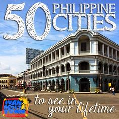 Top 50 Philippine heritage cities and towns to see in your lifetime Philippines People, Philippines Cities, Visit Philippines, Philippines Culture, The Places Youll Go, Places To See, Backpacking Ireland, Philippine Holidays, Philippines