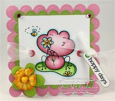Sweet Froggies - Whimsy Stamps