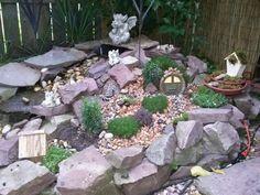 My fairy garden ... lovin it!!