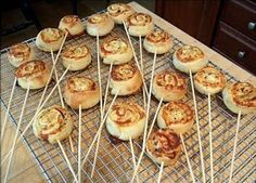 VCTRY's BLOG: Chupetines de pizza (pizza rolls en palito), muy f...
