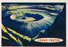 Space Cards #40: Lunar Crater