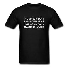 My Bank Balance - Men's T-Shirt #eat #foodie #eating #hungry #food #fat #hangry #funny #humor #jokes #saying #quotes #meme #pizza #donuts #shirt #shirts #design #djbdesigns #spreadshirt #tshirt #tee #design #apparel