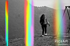 Searching for Colors Rainbows Picsart