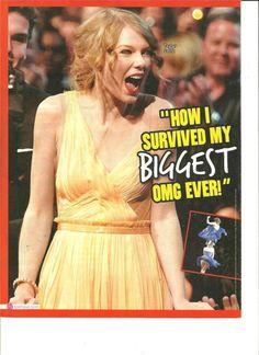 Taylor Swift, Full Page Pinup Clipping