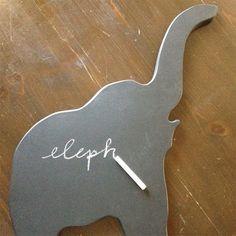 Elephant Chalkboard