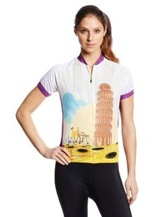 83 Sportswear Womens Pisa Cycling Jersey Multi Small *** You can find out more details at the link of the image.(This is an Amazon affiliate link and I receive a commission for the sales)