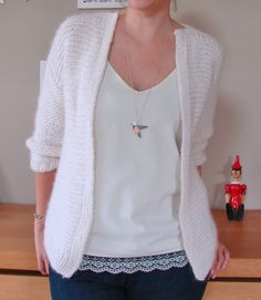 Gilet Germaine by Huguette paillettes                                                                                                                                                                                 Plus