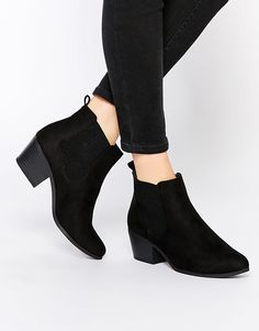 Find this Pin and more on Shoes  Shop New Look Western Ankle Boots at ASOS