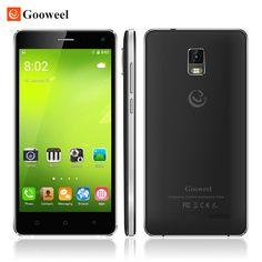 """무료 플립 케이스 gooweel m13 플러스 4 그램 스마트 폰 안드로이드 5.1 휴대 전화 mtk6735p 쿼드 코어 5.0 """"HD 화면 8MP GPS 휴대 전화"""