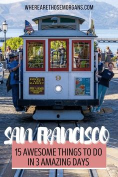 San Francisco is a bucket list US city destination suitable for every type of traveler. We love SF, there's an abundance of things to do but on a first visit with only 1, 2 or 3 days - what should you prioritize? This list of 15 unmissable things to do on a first visit to San Francisco hits the major highlights in 3 awesome days! #sanfrancisco #thingstodoinsanfrancisco #sanfranciscoitinerary #sanfranciscophotography Weekend In San Francisco, San Francisco Vacation, San Francisco City, San Francisco Travel, Usa Travel Guide, Travel Usa, Travel Guides, Travel Tips, Best Wineries In Napa
