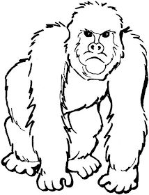 Adult Coloring Pages Printable Gorilla from Animal Coloring Pages category. Printable coloring pictures for kids that you could print out and color. Check out our collection and print the coloring pictures for free. Zoo Coloring Pages, Garden Coloring Pages, Shape Coloring Pages, Family Coloring Pages, Kindergarten Coloring Pages, Detailed Coloring Pages, Tree Coloring Page, Free Coloring, Printable Coloring
