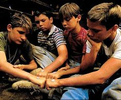 Stand by Me= best movie EVER  and the best cast... <3 cory feldman, river phoenix and jerry o'connell (now, not vern. lol)