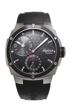 This stunning Alpina watch with model number AL-950LBBB4AE6 is from the Avalanche Extreme Manufacture collection. The appearance is brilliantly designed for Gents.