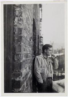 Jack Kerouac by Allen Ginsberg.