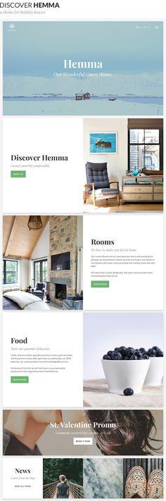 Hemma - A WordPress theme for Holiday Houses • Download theme ➝ https://themeforest.net/item/hemma-a-wordpress-theme-for-holiday-houses/15924438?ref=pxcr