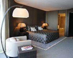 Photos of Boutique Hotels by Fashion Designers - ELLE DECOR - ARMANI HOTEL, DUBAI