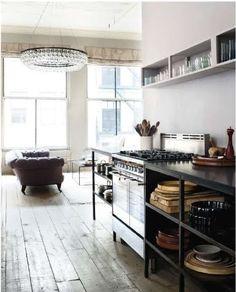 Open keukenblok