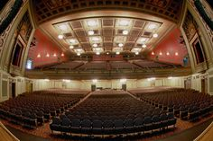 View from the stage after our renovations! Photo by Craig Weiglein.