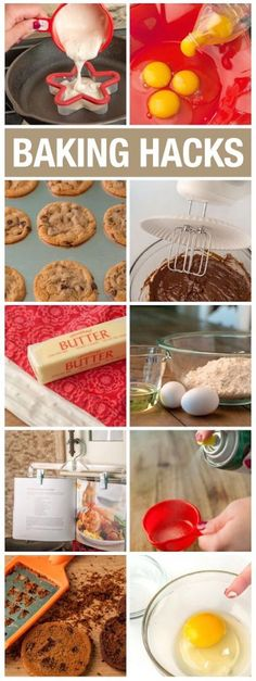 Baking Hacks. Genius DIY life hacks for the kitchen.
