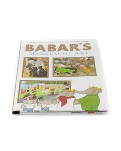 Yottoy Babar's Museum of Art Hardcover Book  $20 at Neiman Marcus  COPY LINK   FAVORITE        Available Colors: MULTI Available Sizes: DETAILS Yottoy Babar's Museum of Art book. Written by Laurent de Brunhoff. Hardcover. 48 pages. Imported.