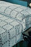 new orleans bedspread - lots of free vintage bedspread patterns on this page
