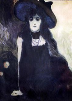 Léon Spilliaert - La Buveuse d'Absinthe
