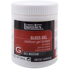 Reeves Liquitex Gloss 16-oz Medium Gel