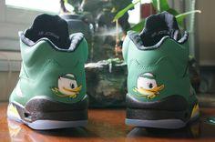 f75917c32a8f Perfect  Air  Jordan  5 Oregon Ducks  Women  Shoes All Jordan Shoes