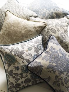 Wedgwood Home by Blendworth Cushions in Tonquin prints.