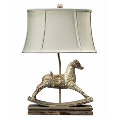 Rocking Horse Table Lamp from the Animal Kingdom event at Joss and Main!